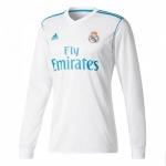 Новая футболка Реала Мадрид 2017-2018 длинный рукав (основная). Шорты в подарок!