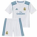 Детская футбольная форма Реала Мадрид 2017-2018 (основная). Роналдо, Бейл и другие.