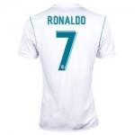 Новая футболка Роналдо Реал 2017-2018 (основная). Шорты в подарок!