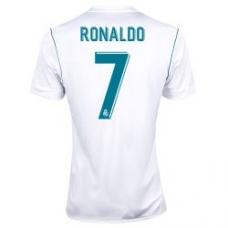 Новая футболка Роналдо Реал 2017-2018 (основная). Шорты в подарок! - фото 1