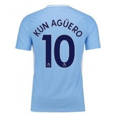 Новая форма Манчестер Сити (основная) Агуеро 2017-2018 - фото 1