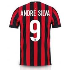 Новая форма Милана 2017-2018 Андре Силва (основная) Шорты в подарок!  - фото 1
