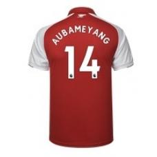 Новая форма Арсенал 2017-2018 (основная) Обамеянг. Шорты в подарок!  - фото 1