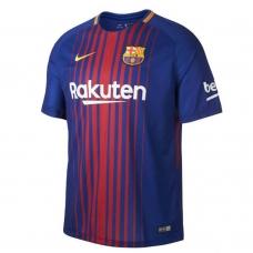 Новая форма Барселоны (основная) 2017-2018. Шорты в подарок!  - фото 1