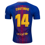 Новая форма Коутиньо Барселона 2017-2018 (основная). Шорты в подарок!