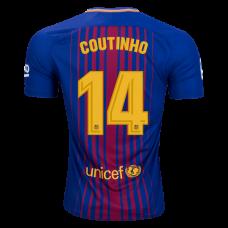 Новая форма Коутиньо Барселона 2017-2018 (основная). Шорты в подарок! - фото 1