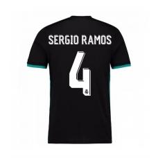 Реал (Мадрид) 2017-2018 Серхио Рамос (запасная). Шорты в подарок! - фото 1