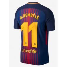 Новая форма Дембеле Барселона 2017-2018 (основная) - фото 1