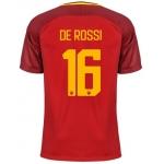 Новая футболка Рома 2017-2018 Де Росси (основная). Шорты в подарок!