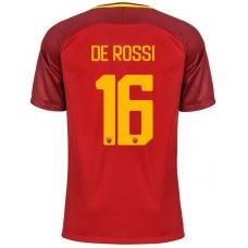 Новая футболка Рома 2017-2018 Де Росси (основная). Шорты в подарок! - фото 1