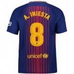 Новая форма Иньесты Барселона 2017-2018 (основная)
