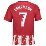 Футболка Атлетико Мадрид 2017-2018 Гризманн (основная). Шорты в подарок!