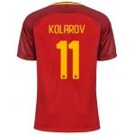 Новая футболка Рома 2017-2018 Коларов (основная). Шорты в подарок!