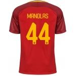 Новая футболка Рома 2017-2018 Манолас (основная). Шорты в подарок!