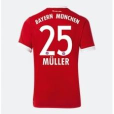 Футболка Баварии 2017-2018 Мюллер (основная). Шорты в подарок! - фото 1