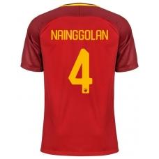 Новая футболка Рома 2017-2018 Наинголлан (основная). Шорты в подарок! - фото 1