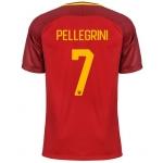 Новая футболка Рома 2017-2018 Пеллегрини (основная). Шорты в подарок!