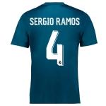 Новая футболка Реала Мадрид 2017-2018 (резервная) Серхио Рамос. Шорты в подарок!