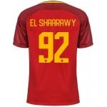 Новая футболка Рома 2017-2018 Эль Шаарави (основная). Шорты в подарок!