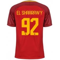 Новая футболка Рома 2017-2018 Эль Шаарави (основная). Шорты в подарок! - фото 1