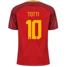 Новая футболка Рома 2017-2018 Тотти (основная). Шорты в подарок! - фото 1