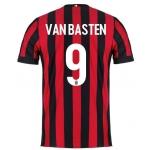 Новая форма Милана 2017-2018 Ван Бастен (основная).