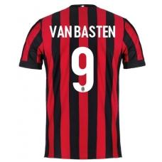 Новая форма Милана 2017-2018 Ван Бастен (основная). - фото 1