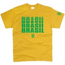 Футболка Brazil см. другие цвета - фото 1