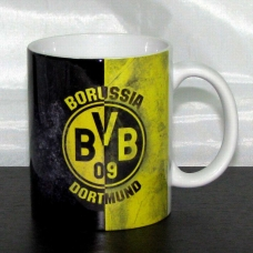 Чашка Боруссия Дортмунд - фото 1