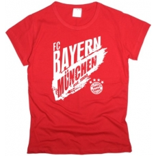 Футболка Bayern женская - фото 1