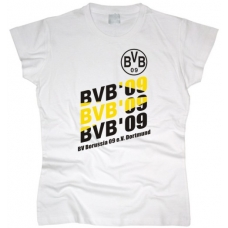Футболка Borussia женская. См. другой цвет - фото 1
