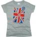 Футболка Great Britain flag женская. См. другой цвет - фото 2
