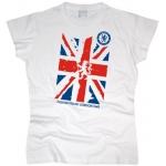 Футболка Great Britain flag женская. См. другой цвет