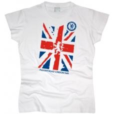 Футболка Great Britain flag женская. См. другой цвет - фото 1