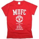 Футболка MUFC женская. См. другие цвета