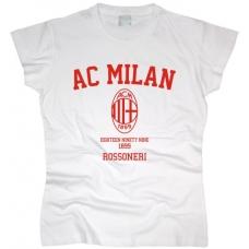 Футболка AC Milan женская. См. другие цвета - фото 1