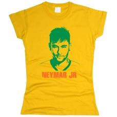 Футболка Neymar женская. Смотреть другие цвета - фото 1