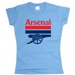 Футболка Арсенал женская. См. другой цвет