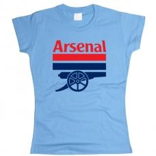 Футболка Арсенал женская. См. другой цвет - фото 1