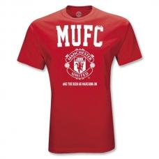 Футболка MUFC - фото 1