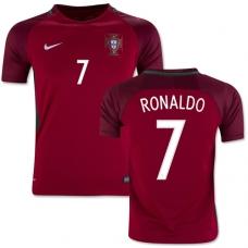 Сборная Португалии 2016 Роналдо (основная). Шорты в подарок!  - фото 1