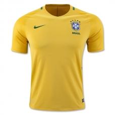 Футболка сборной Бразилии (основная) 2016. Шорты в подарок!  - фото 1