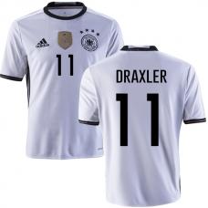 Сборная Германии (основная) Евро 2016 Дракслер. Шорты в подарок! - фото 1