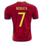 Сборная Испании (основная) 2016 Мората. Шорты в подарок!