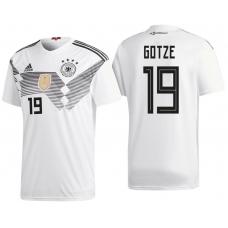 Сборная Германии Гётце (основная) Чемпионат Мира 2018. Шорты в подарок! - фото 1