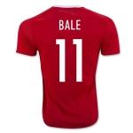 Футболка (форма) сборной Уэльса 2016 Бейл (основная). Доставка ~ 2 недели. Качество оригинала!