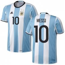 Сборная Аргентины 2016 Месси (основная). Шорты в подарок! - фото 1